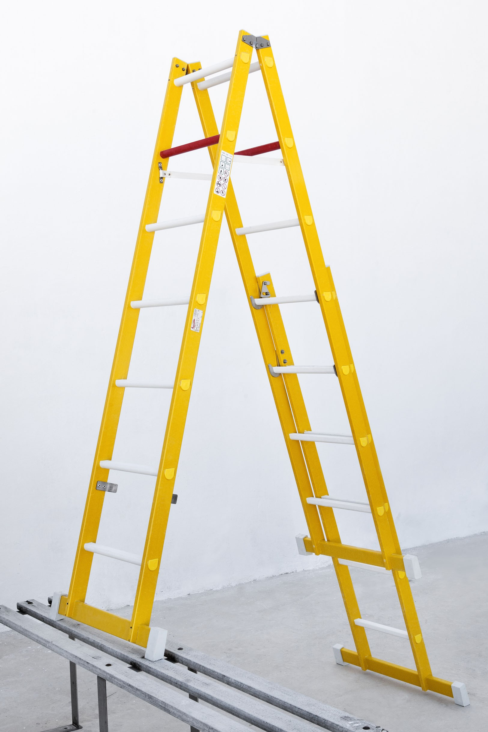 Stile Extensions For Fibreglass Stepladders And Single Section Folding Ladders
