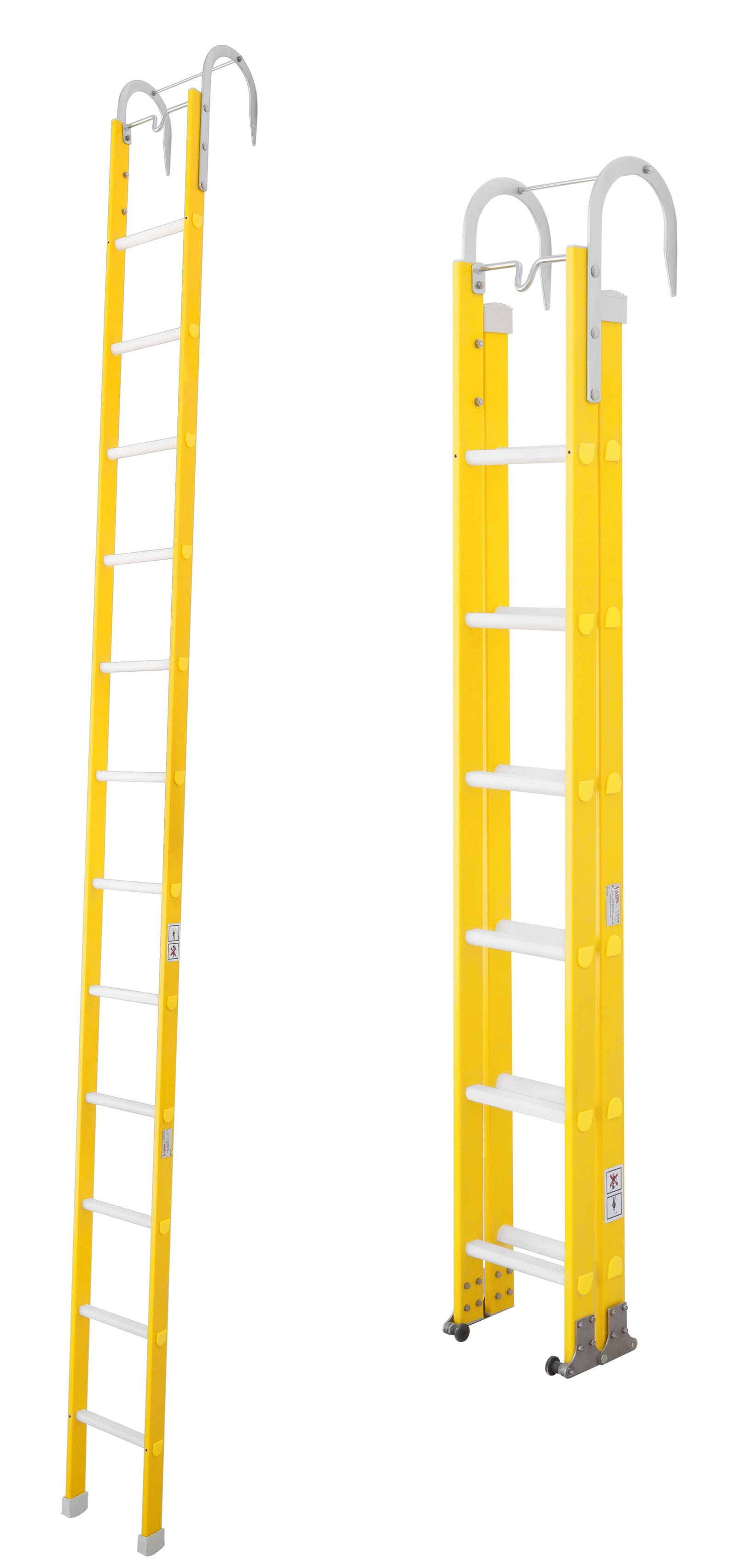 ASSAULT LADDERS FOR FIRE-FIGHTING