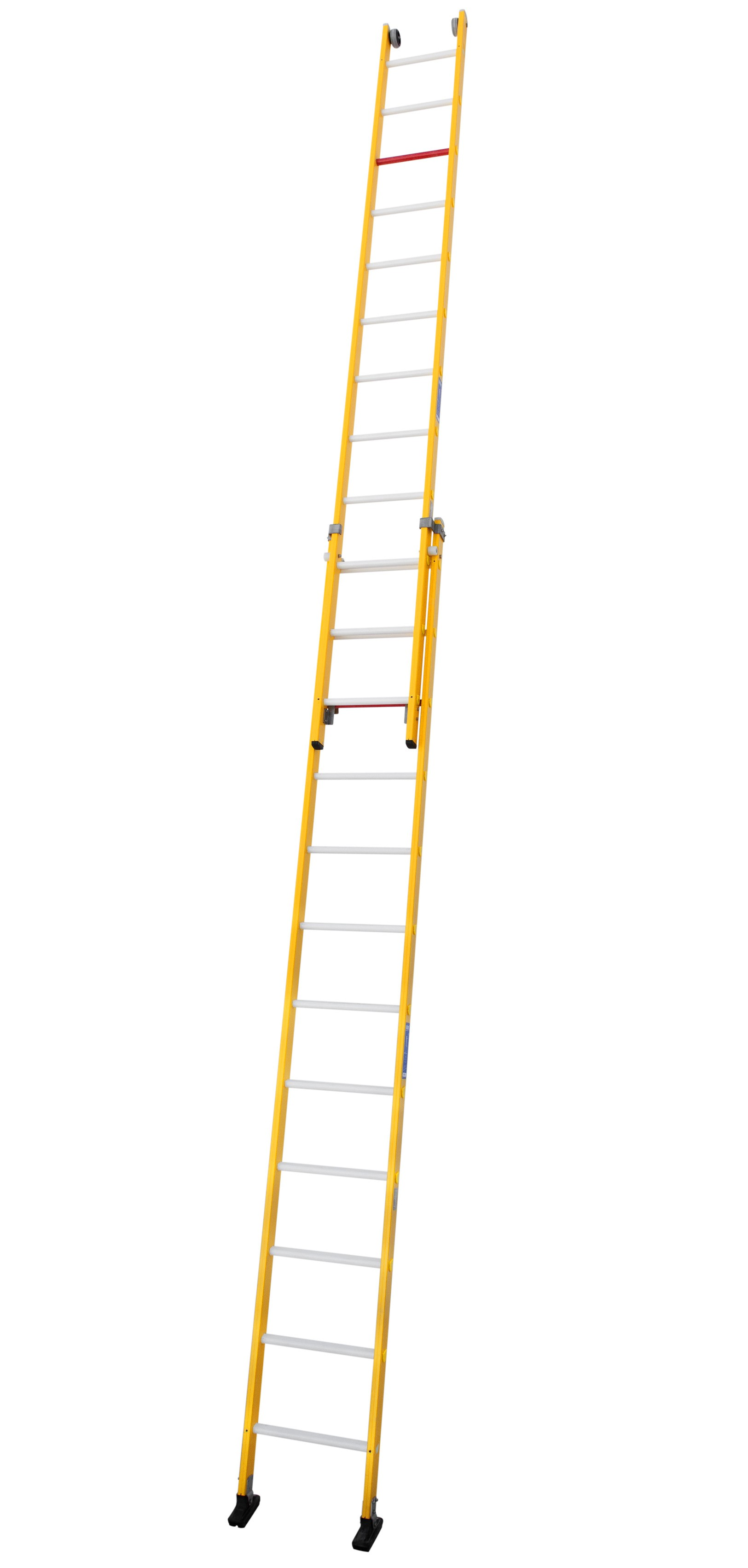 Fibreglass Push-up Extension Ladder