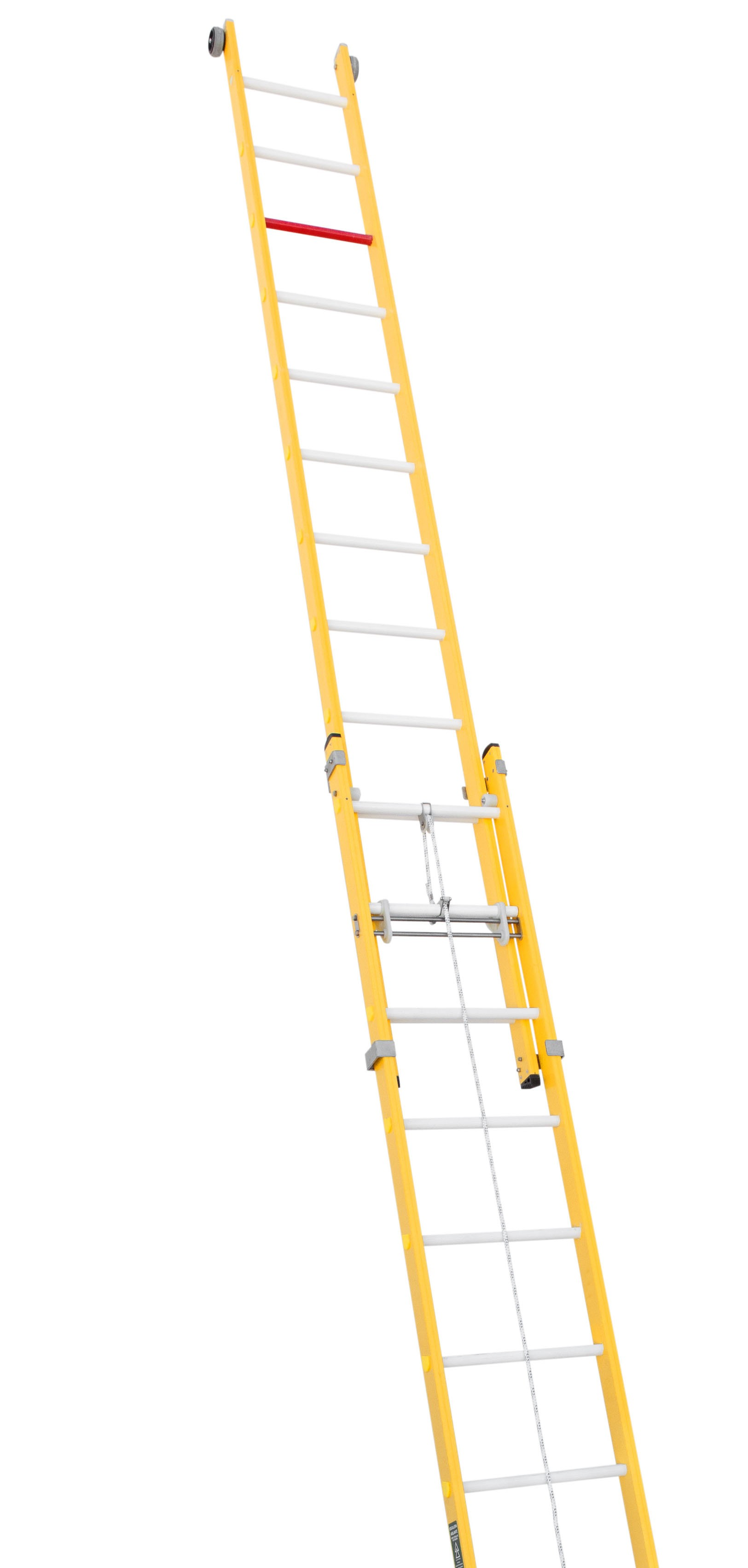Fibreglass Rope-operated Extension Ladder
