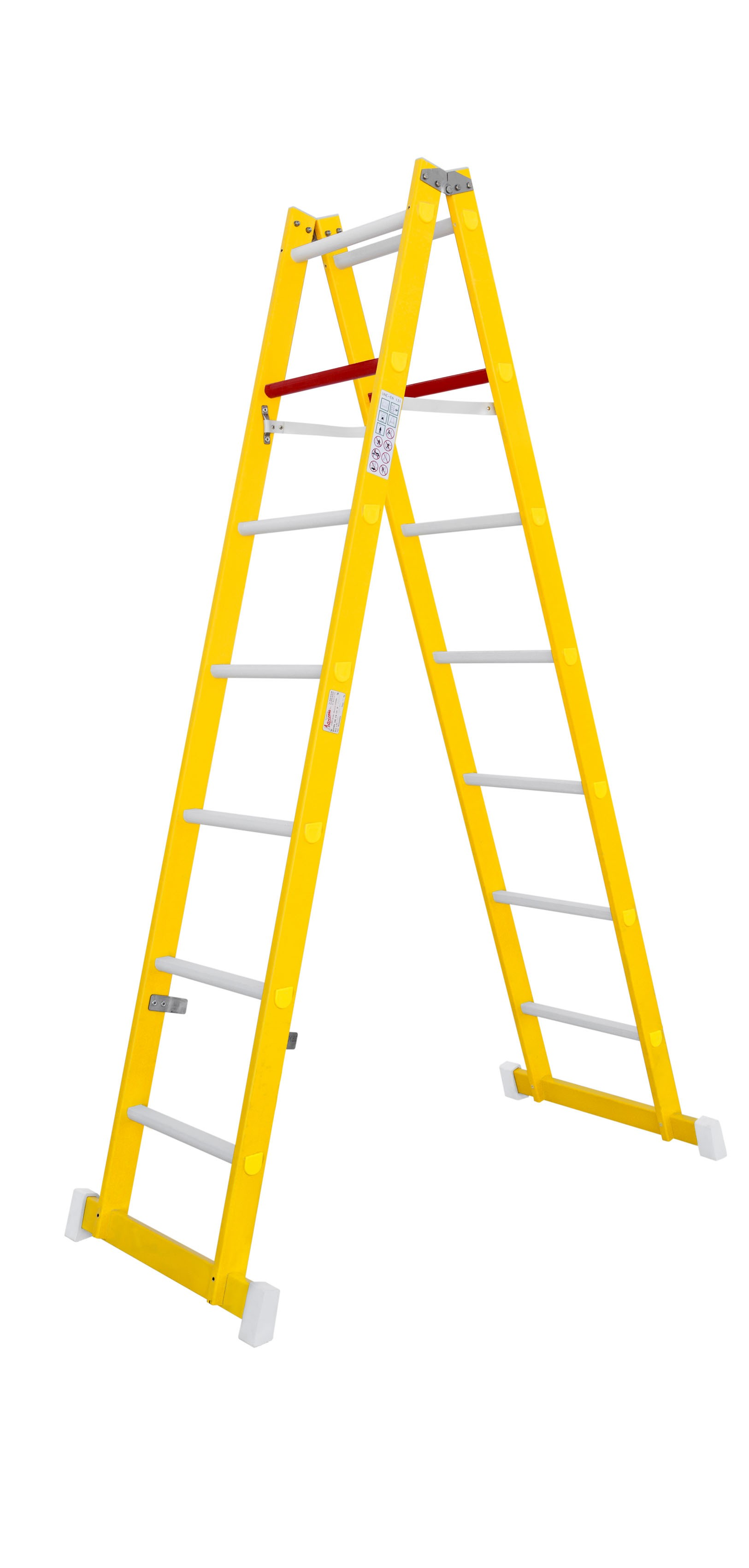 Fibreglass Double-sided Stepladder