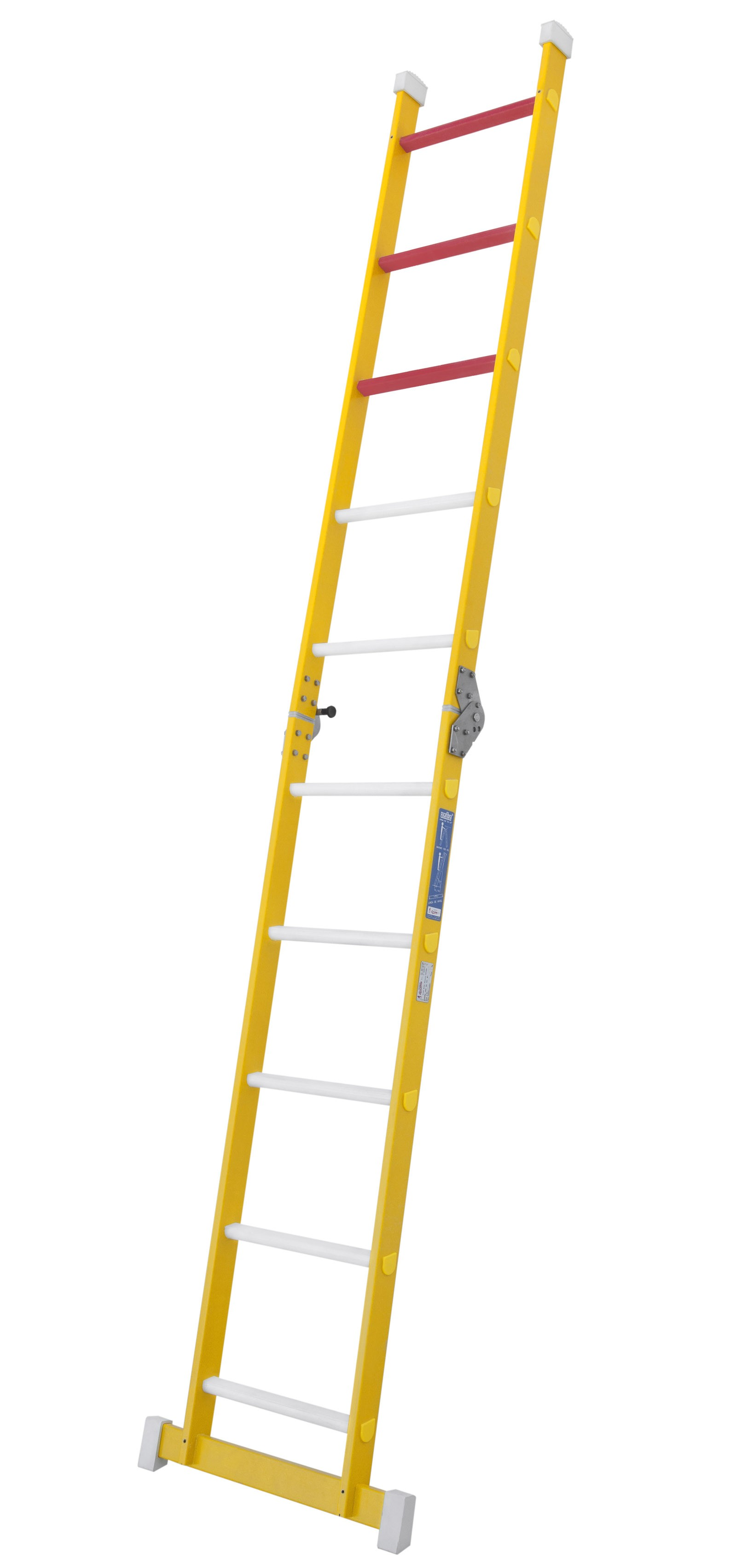 Fibreglass Single-section Folding Ladder