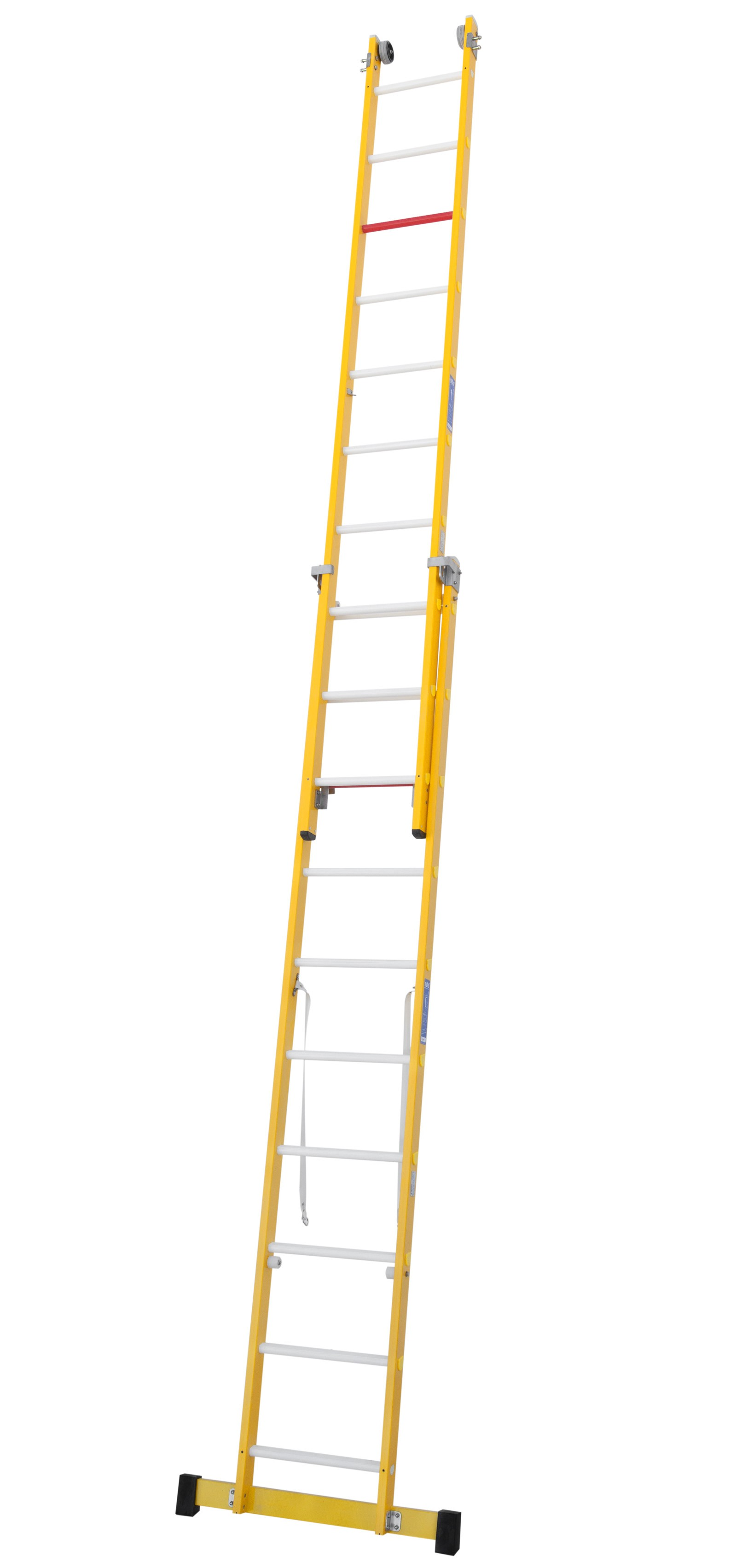 Fibreglass Two Section Combination Ladder