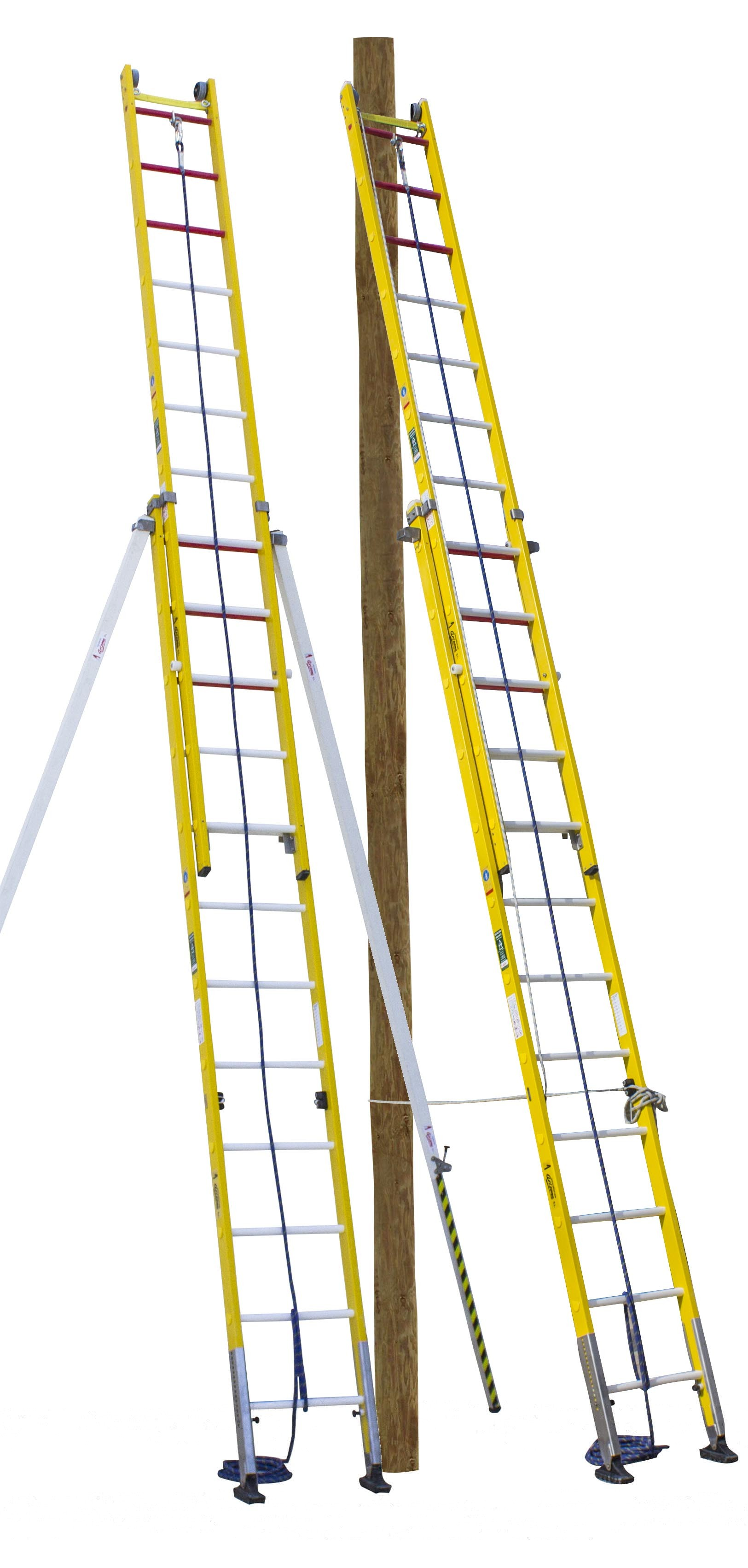Safety Fibreglass Ladder ARISAFE-2