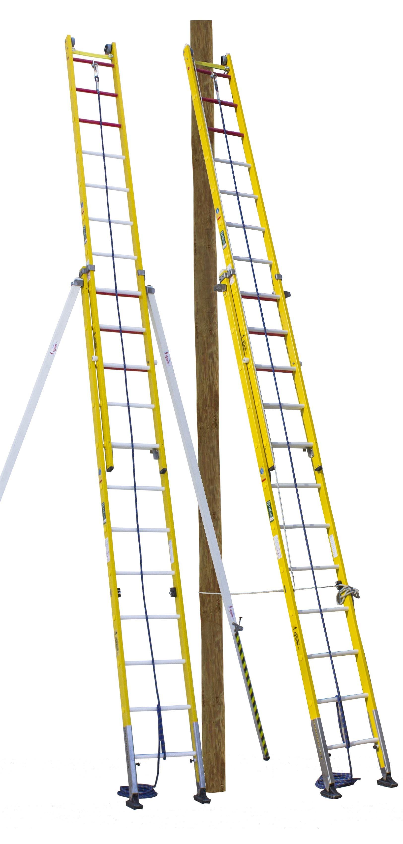 Safety Fibreglass Ladder ARISAFE-2