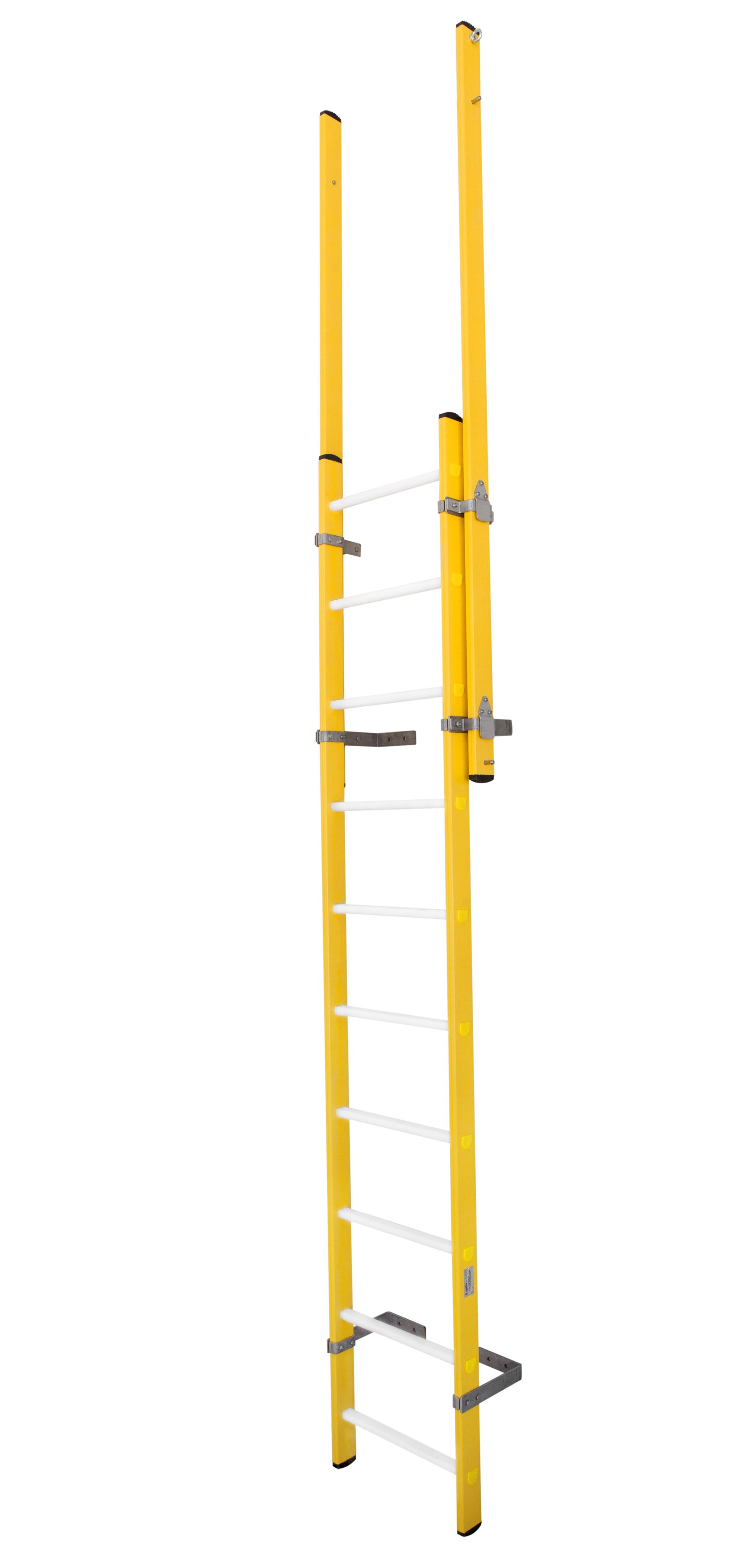 Fibreglass Fixed Vertical Ladders / Shaft Ladders