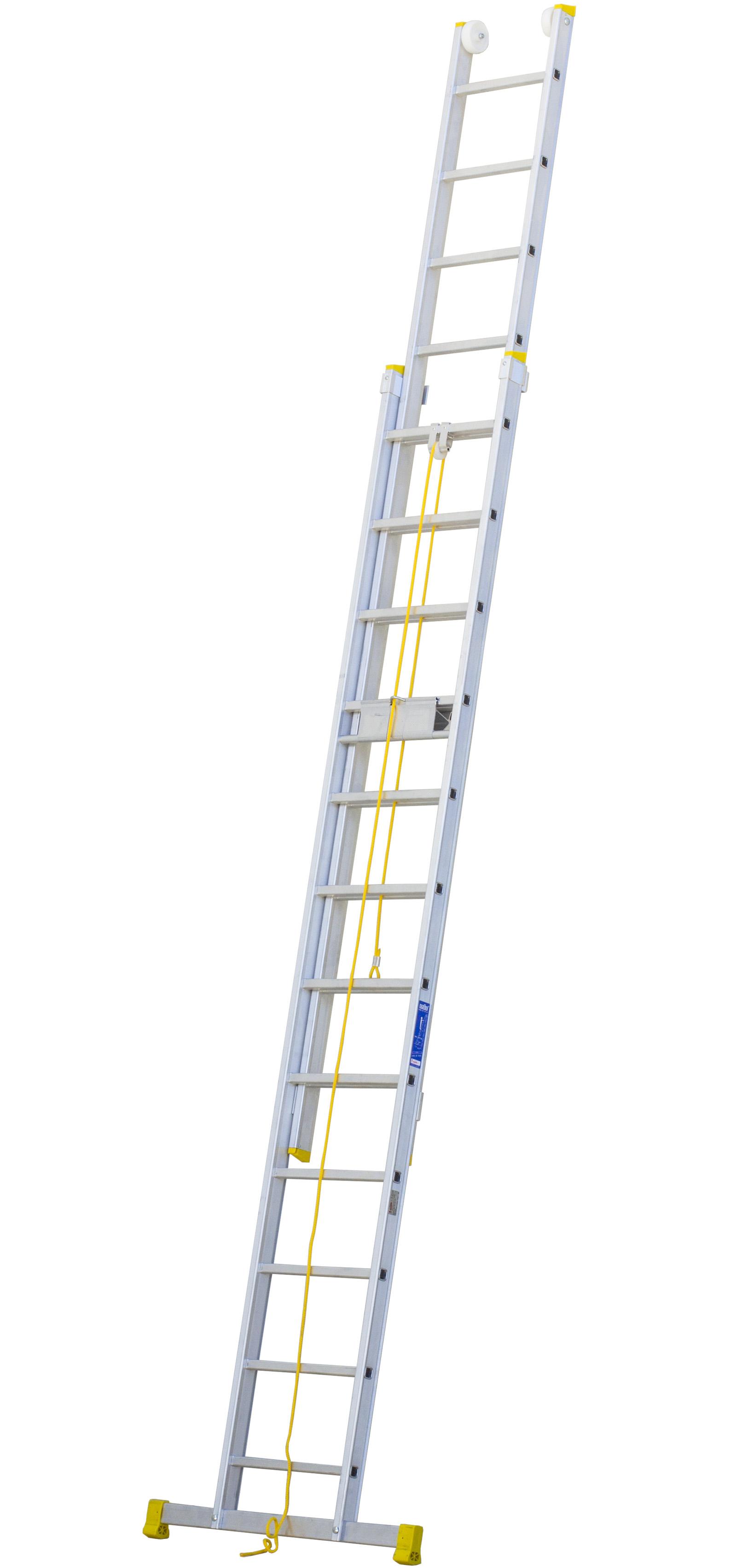 Aluminium Rope Operated Extension Ladder Escaleras Arizona
