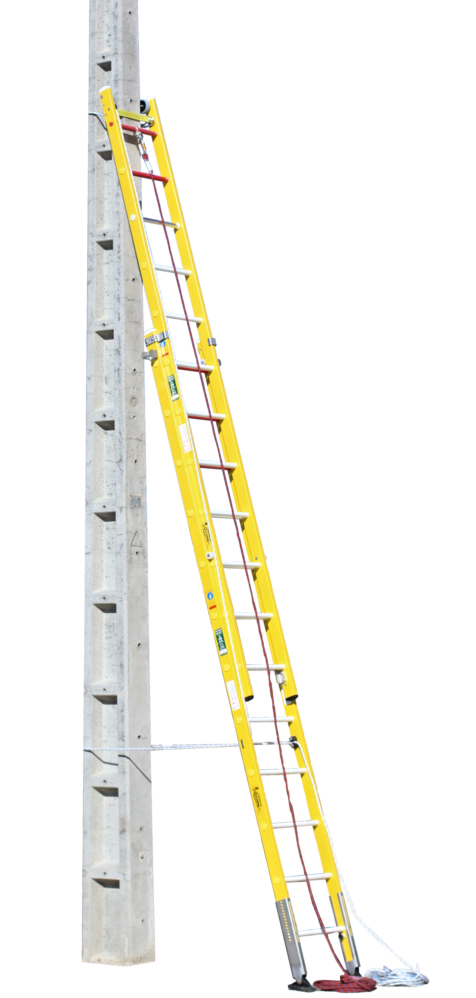 Fibreglass Safety Ladder ARISAFE-4